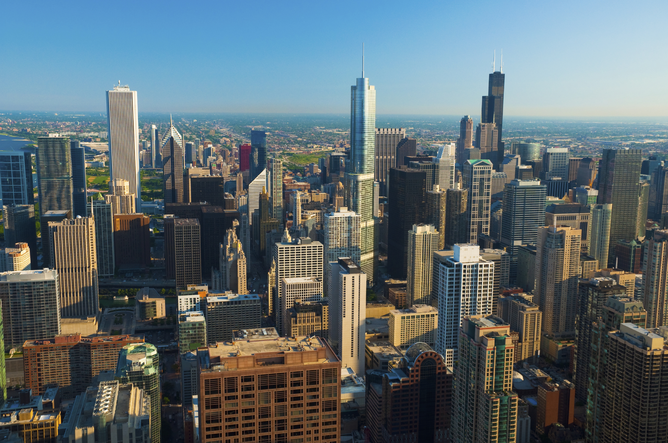 CommercialForum Aerial View of Downtown Chicago